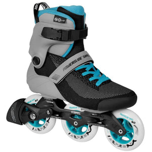Powerslide Swell Lite Grey Blue 100 Inline Skates