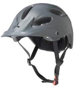 Triple 8 Compass Certified Bike Helmet Grey Matte