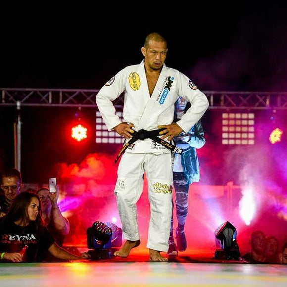 Proud sponsor of Master Baret Yoshida who rides JMKRIDE freeskates to train for his Brazilian Jiu Jitsu fights