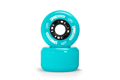 Classic Wheels - set of 2 - Cyan