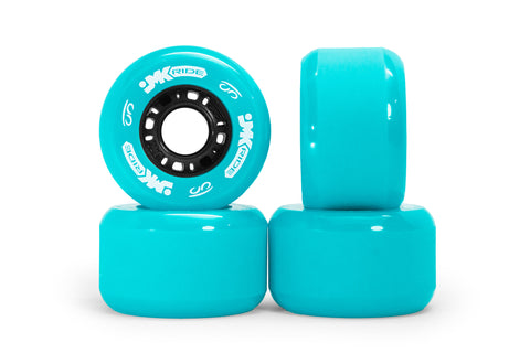 Classic Wheels - set of 4 - Cyan