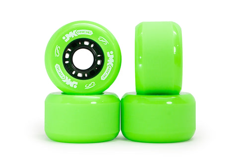 Classic Wheels - set of 4 - Green