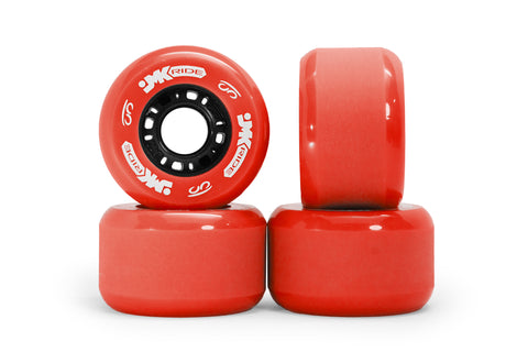 Classic Wheels - set of 4 - Red
