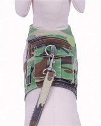 Green Camouflage Harness
