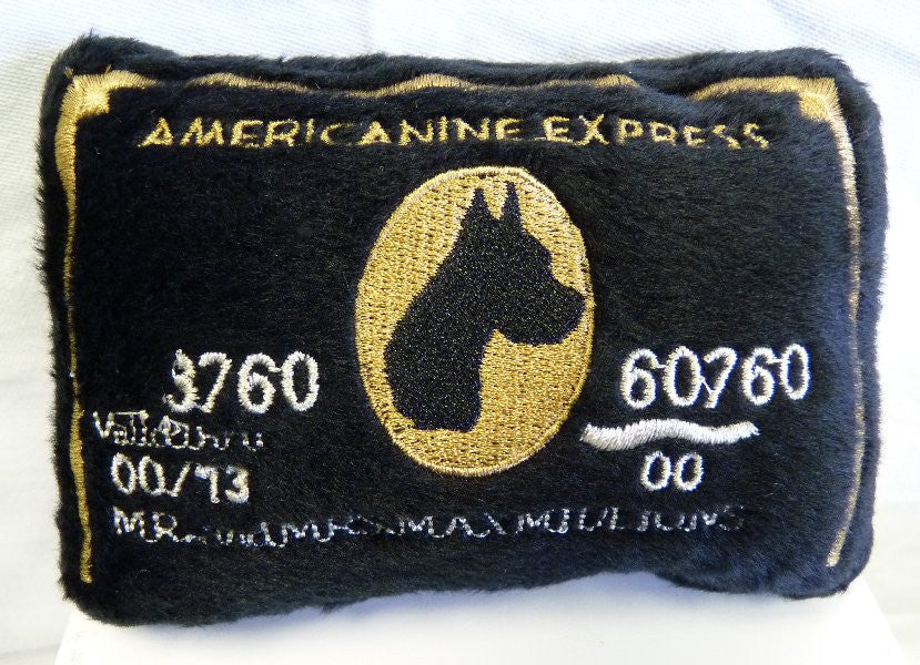 Americanine Express Bark Card