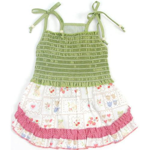 County Fair Diva~Smocked Dress