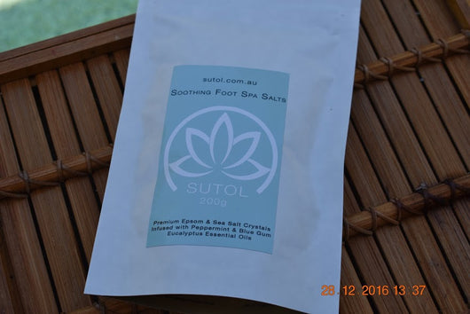 Soothing Foot Spa Salts