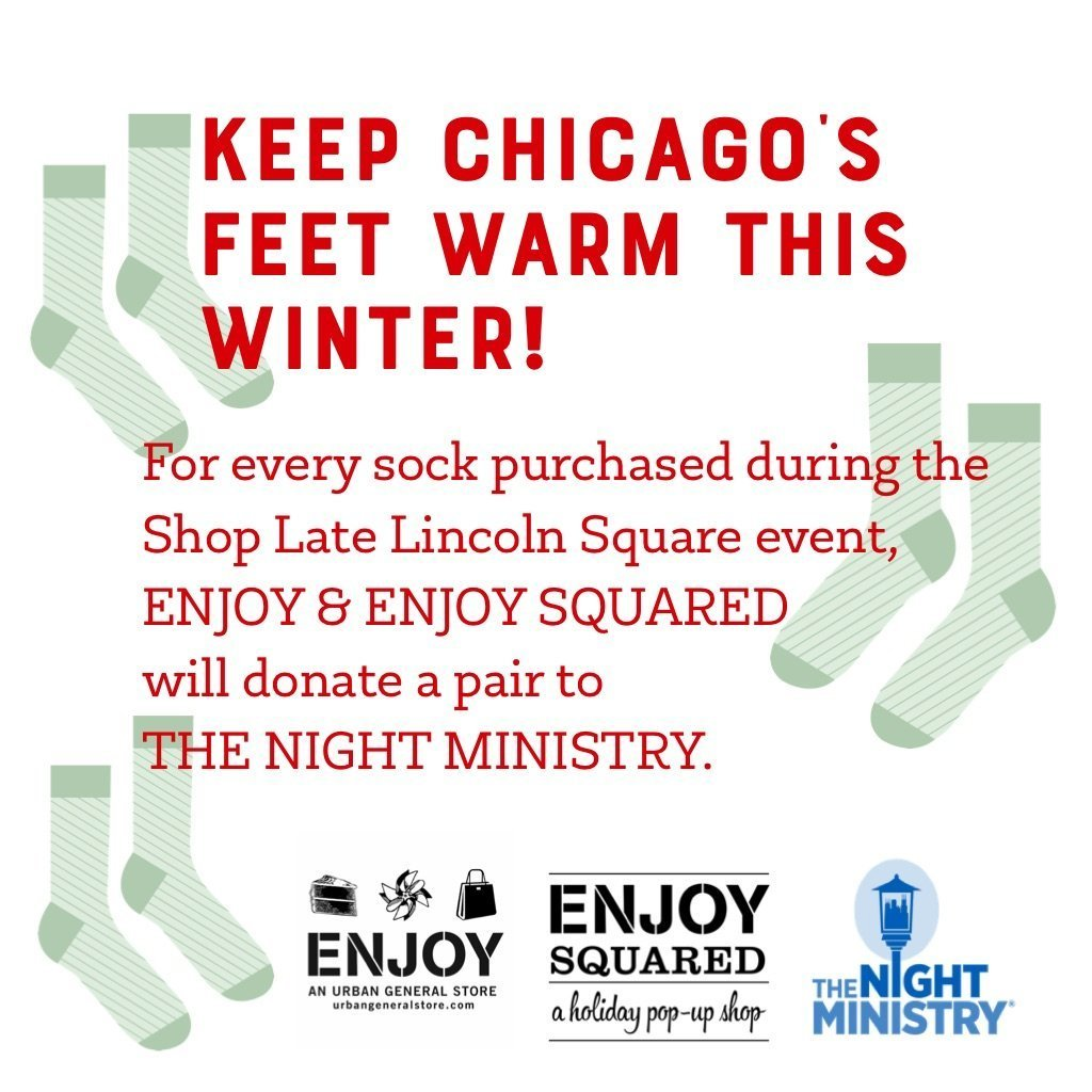 Help Keep Chicago's Feet Warm This Winter