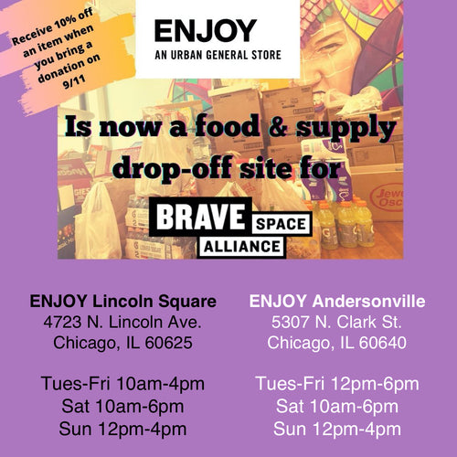 Support Brave Space Alliance COVID-19 Crisis Pantry