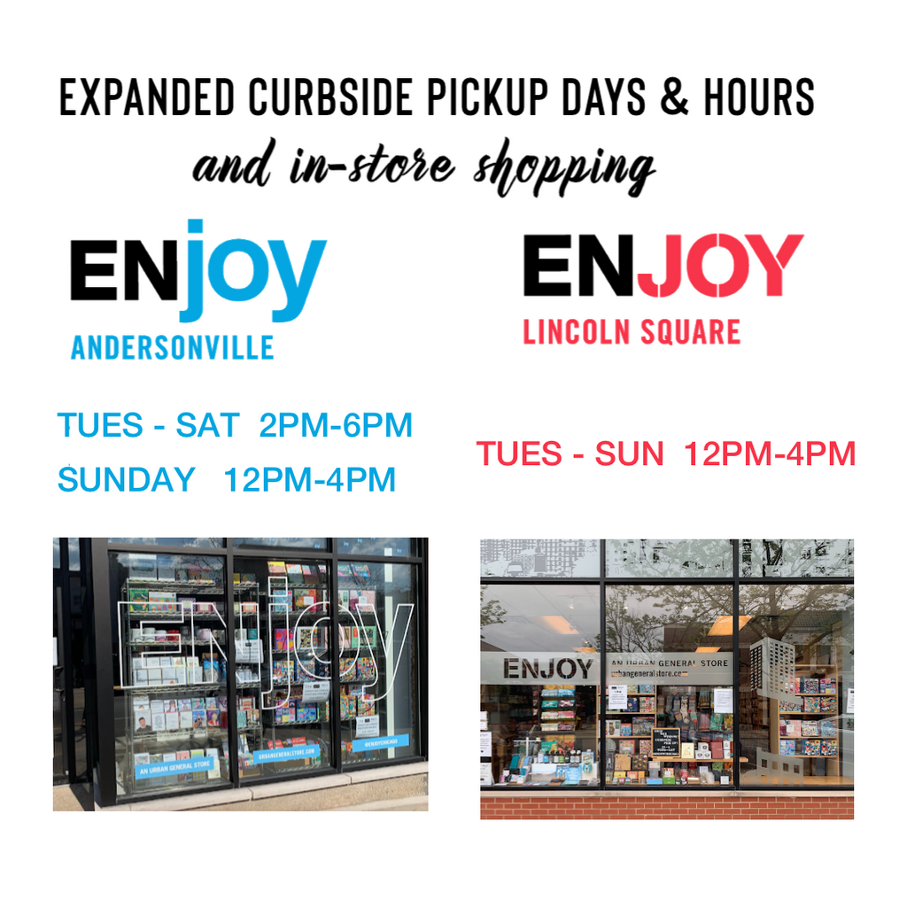 Announcing 3 Ways To Shop at ENJOY in Chicago