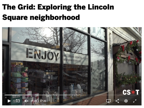 The Grid: Exploring the Lincoln Square neighborhood