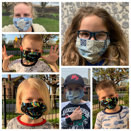 New Masks by MaggiePops