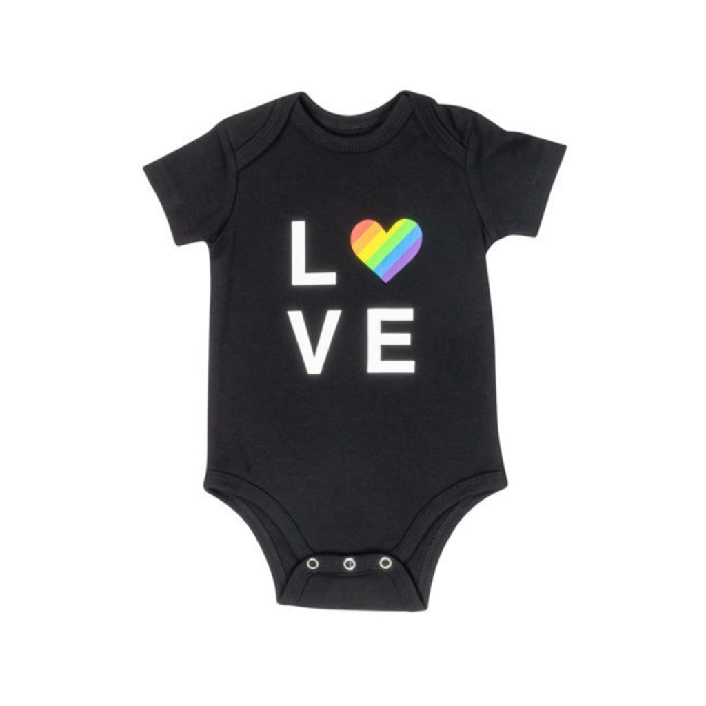 Love Onesie About Face Designs Apparel & Accessories - Clothing - Baby & Toddler - One-Pieces & Onesies