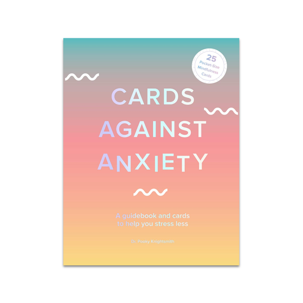 Cards Against Anxiety (Guidebook and Card Set) Abrams Books - Other