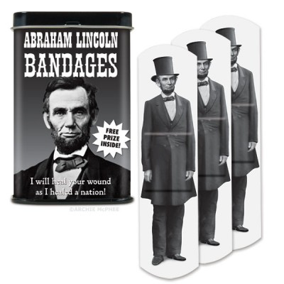 Abraham Lincoln Bandages Accoutrements Bandages & Band-Aids