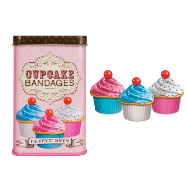 Cupcake Bandages Accoutrements Bandages & Band-Aids