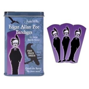 Edgar Allan Poe Bandages Accoutrements Bandages & Band-Aids