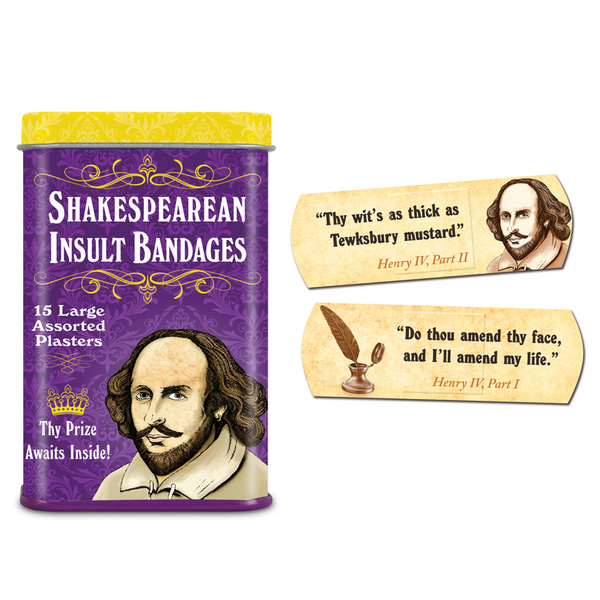 Shakespearean Insult Bandages Accoutrements Bandages & Band-Aids