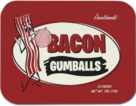 Bacon Gumballs Accoutrements Candy & Gum