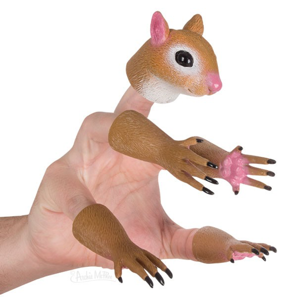 Accoutrements Finger Puppets Handisquirrel Squirrel Finger Puppet Set