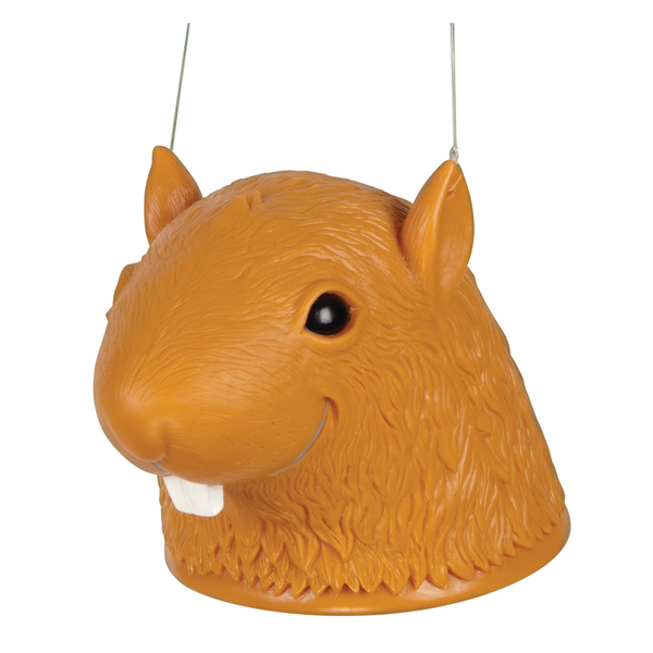 Big Head Squirrel Head Feeder Accoutrements Home & Garden > Decor > Bird & Wildlife Feeders > Squirrel Feeders