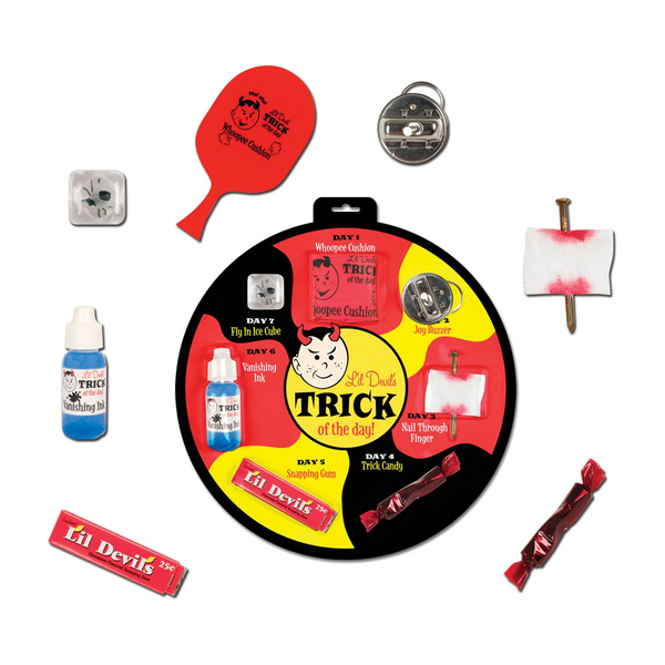 Accoutrements Toys & Games Lil Devil's Trick of the Day Pranks and Gags