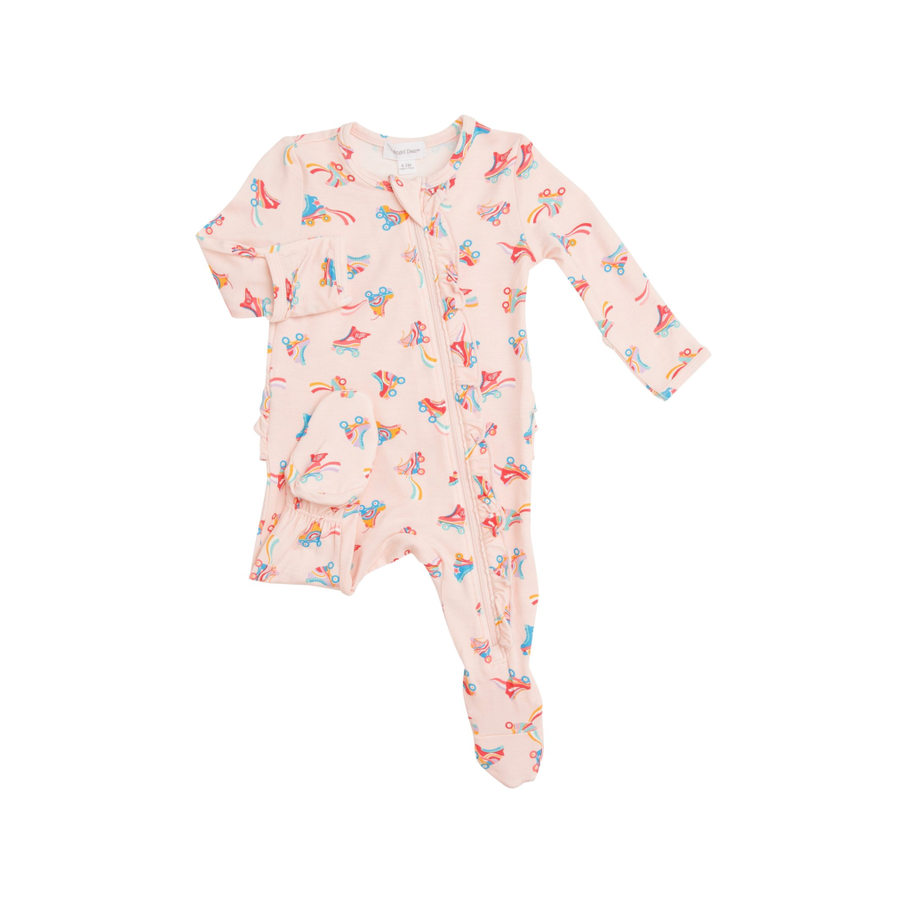 NEWBORN Zipper Footie - Roller Skates Angel Dear Apparel & Accessories - Clothing - Baby & Toddler - One-Pieces & Onesies