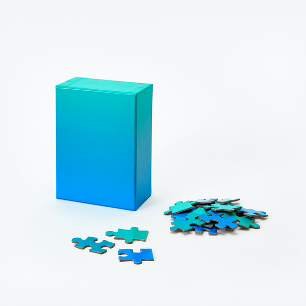 Areaware Gradient Puzzle - Small Blue/Green Areaware Puzzles & Games
