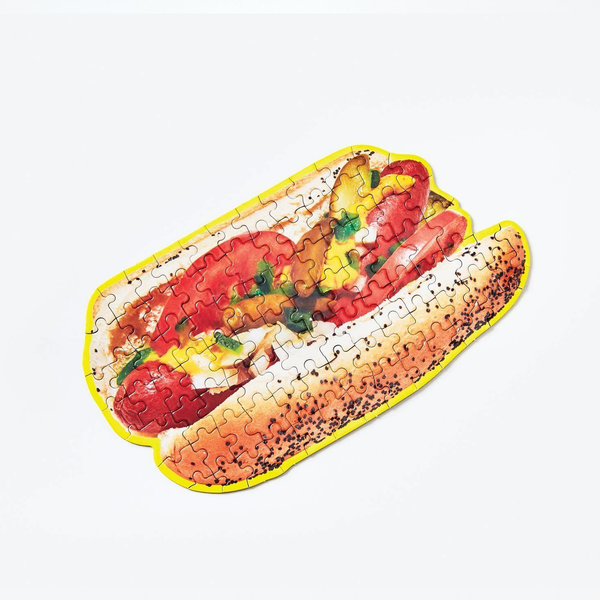 Little Puzzle Thing - Chicago Hot Dog Areaware Puzzles & Games