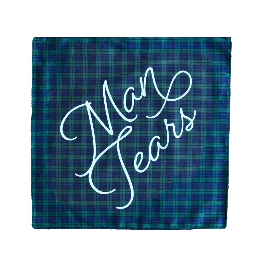 Man Tears Handkerchief - Plaid BOLDFACED GOODS Accessories