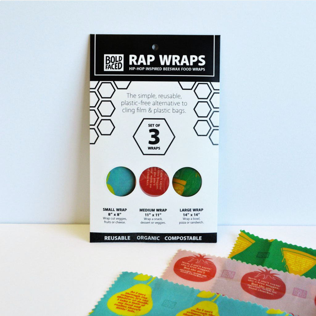 BFG RAP WRAPS BEESWAX WRAPS BOLDFACED GOODS Home