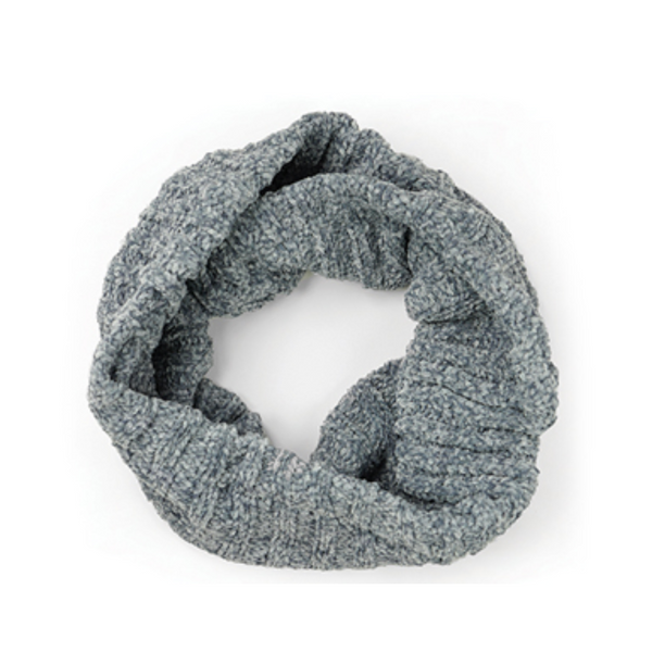 GRAY Chenille Infinity Scarf Britt's Knits Apparel & Accessories - Scarves & Wraps - Winter