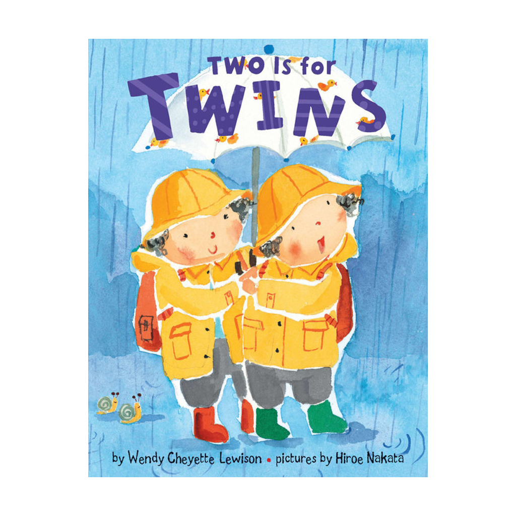 Two Is For Twins Board Book Candlewick Press Board Books