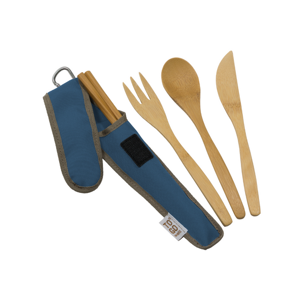 CHI TO GO WARE UTENSIL SET DARK BLUE CHICO BAG Home