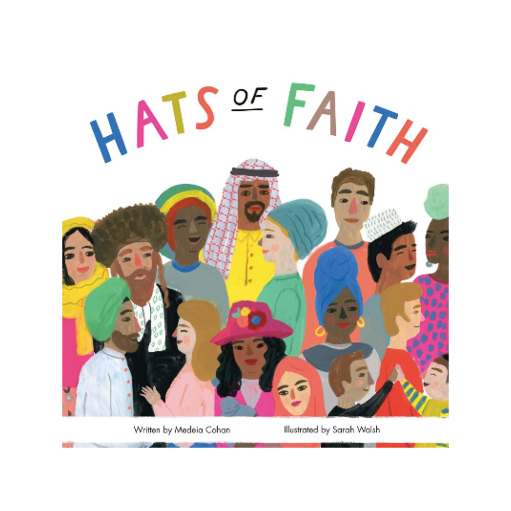 Hats of Faith Board Book Chronicle Books Board Books