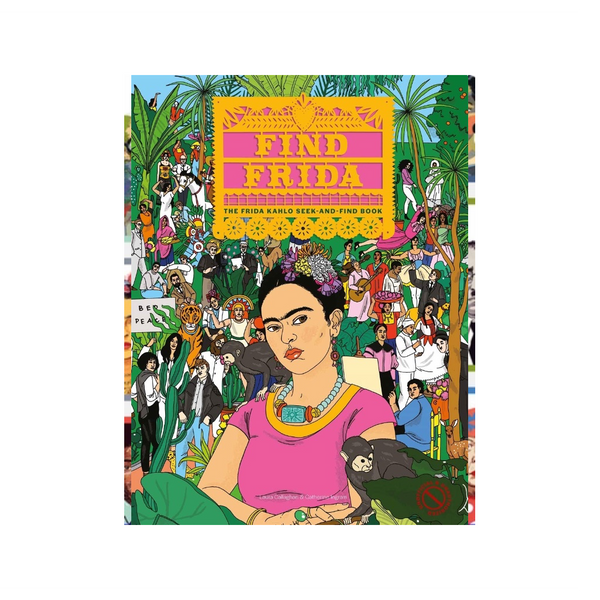 Find Frida Seek and Find Book Chronicle Books Books - Other