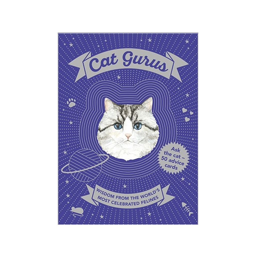 Cat Gurus Advice Cards Chronicle Books Children's Books