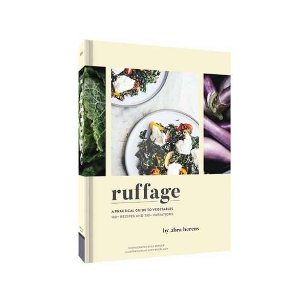 Ruffage A Practical Guide To Vegetables Book Chronicle Books Journals & Gift Books