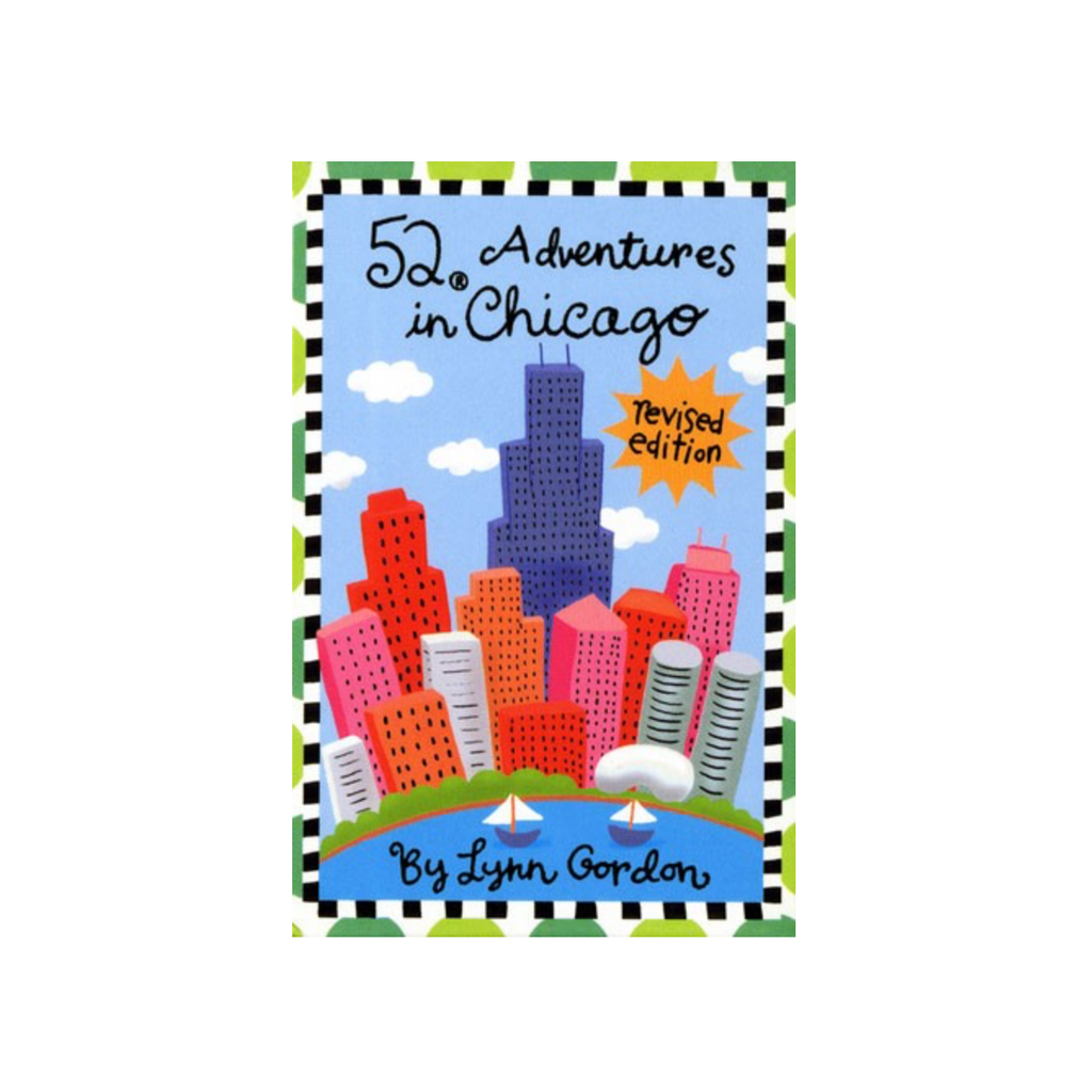 52 Adventures in Chicago Cards Chronicle Books Maps