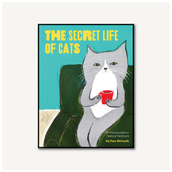 CHR CARDS THE SECRET LIFE OF CATS Chronicle Books Paper & Packaging - Boxed