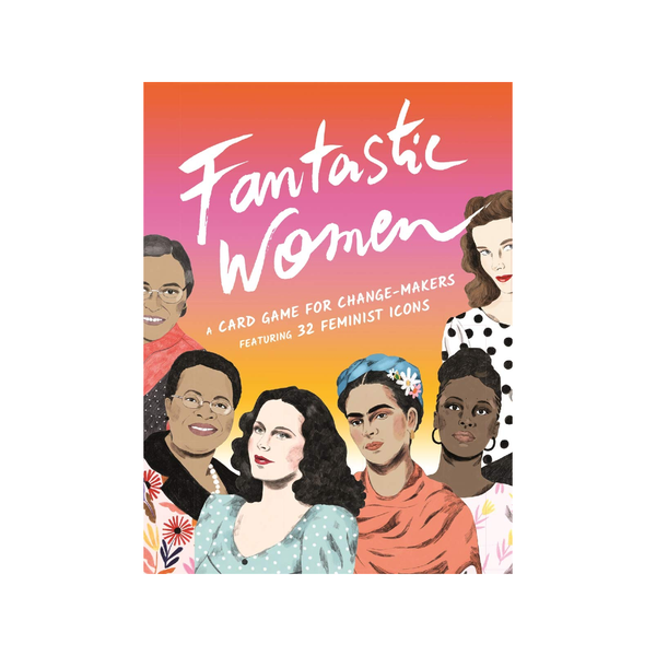 Fantastic Women Card Game Chronicle Books Puzzles & Games