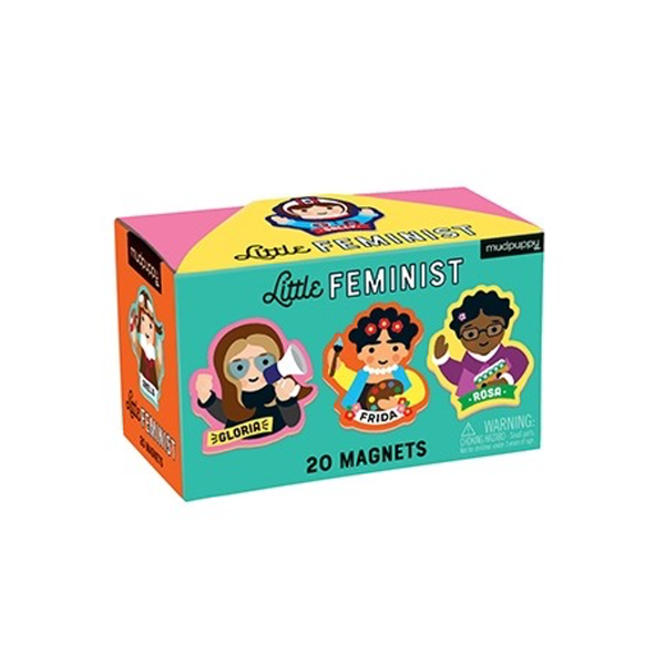Little Feminist Box of Magnets Chronicle Books Puzzles & Games