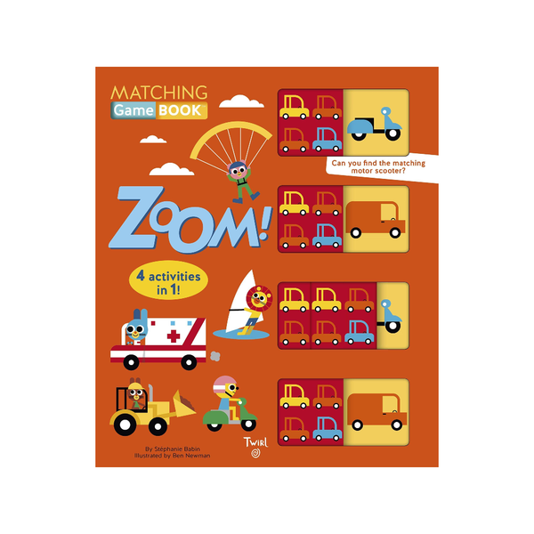 Matching Game Book: Zoom! Chronicle Books Puzzles & Games