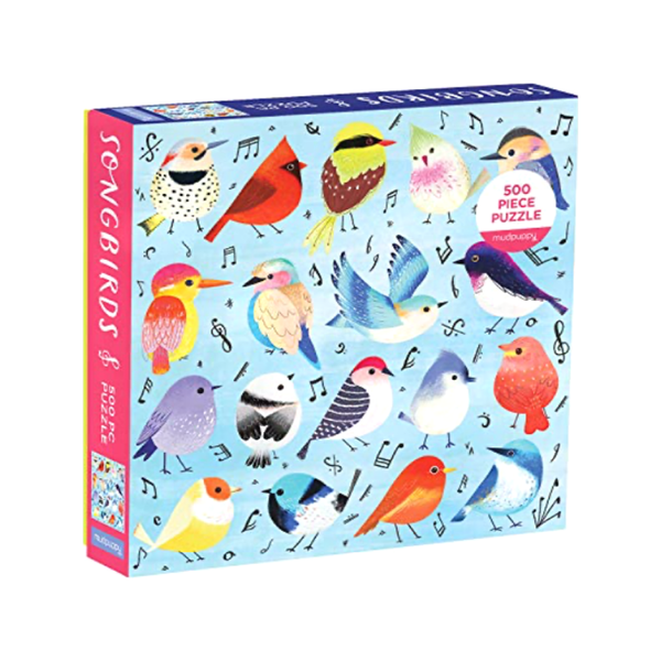 Songbirds Puzzle Chronicle Books Puzzles & Games