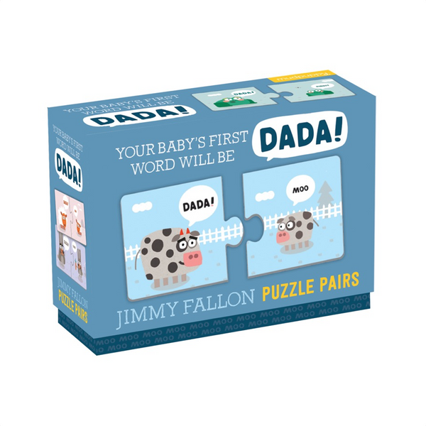 Your Baby's First Word Will Be Dada! Puzzle Pairs Chronicle Books Puzzles & Games