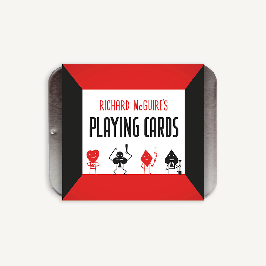 Richard McGuire Playing Cards Chronicle Books Toys & Games - Games