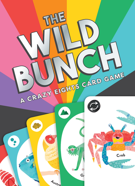 The Wild Bunch Card Game Chronicle Books Toys & Games - Games