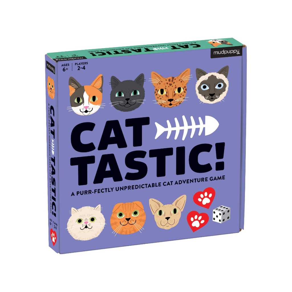 Cat-tastic! Board Game Chronicle Books Toys & Games - Puzzles & Games