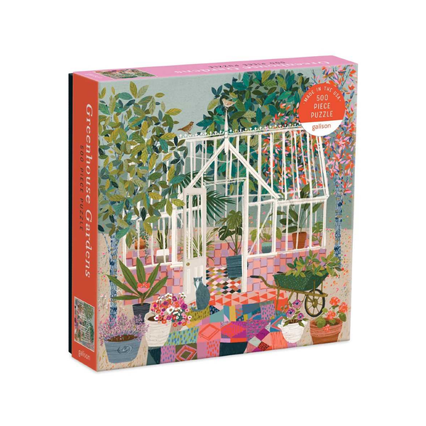 Greenhouse Gardens 500 Piece Jigsaw Puzzle Chronicle Books Toys & Games - Puzzles & Games