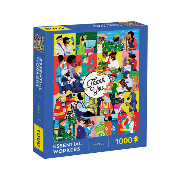Essential Workers 1000-Piece Jigsaw Puzzle Chronicle Books Toys & Games - Puzzles & Games - Jigsaw Puzzles
